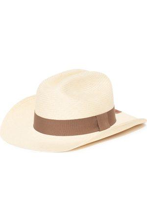 Men Hats - Men's Artisanal Cotton Cowboy Natural - Classic Panama Hat Small Elegancia Tropical Hats