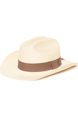 Men's Artisanal Cotton Cowboy Natural - Classic Panama Hat Large Elegancia Tropical Hats