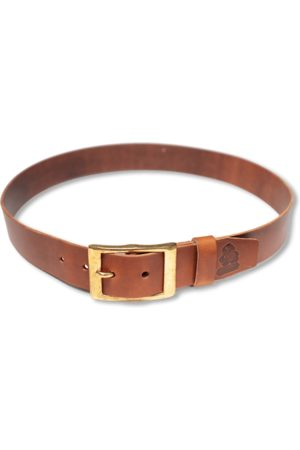 Men's Natural Leather & sons Tan Belt Large & SONS Trading Co