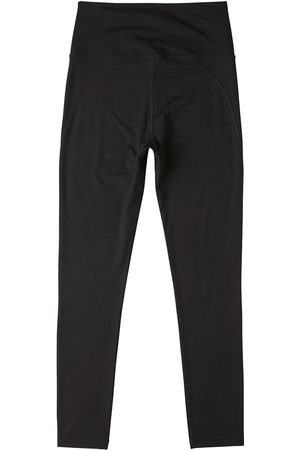 Women Stockings - Women's Organic Black Cotton High-Waist Full Length Tights 2.0 Medium Boody