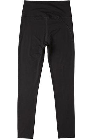 Women Stockings - Women's Organic Black Cotton High-Waist Full Length Tights 2.0 Small Boody