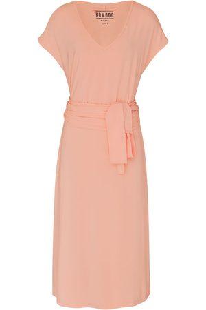 Women Bodycon Dresses - Women's Recycled Peach Modal Salma Dress Medium KOMODO