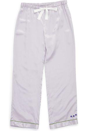 Women Sweats - Women's lilac Silk Chantal Pant In XXL Morgan Lane