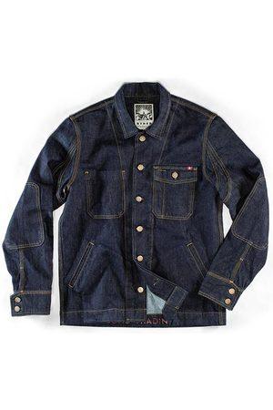Men's Blue Canvas & sons Ryder Hardwear Denim Jacket Large & SONS Trading Co