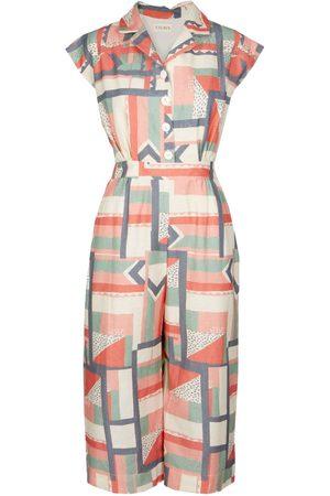 Women's Natural Fibres Mint Cotton Francesca - High Wire Jumpsuit - Linen Blend XXS Palava
