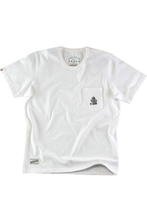 Men's White & sons Boxer Pocket T-Shirt Medium & SONS Trading Co