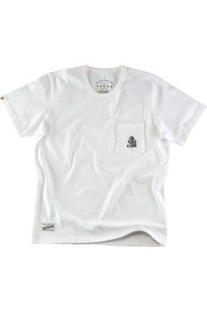 Men's White & sons Boxer Pocket T-Shirt Small & SONS Trading Co