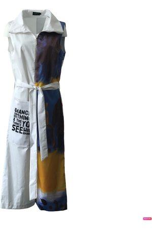 Women Jumpsuits - Women's Artisanal White Cotton Arshys-Frida Jumpsuit Medium