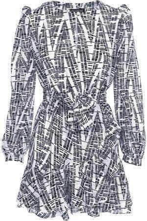 Women Party Dresses - Women's Cotton Folly Mini Dress Small Framboise