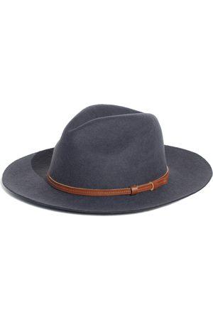 Men Hats - Men's Artisanal Cotton Rancher Gray - Festival Style Fine Felt Hat Medium Elegancia Tropical Hats