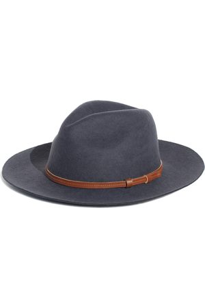 Men Hats - Men's Artisanal Cotton Rancher Gray - Festival Style Fine Felt Hat Small Elegancia Tropical Hats