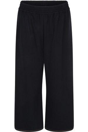 Women Sweats - Women's Black Cotton Organic Heavy Jersey Lounge Pants Large Rakha