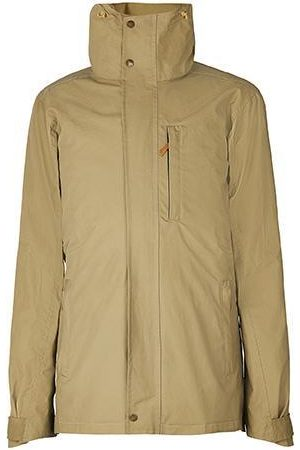 Men Outdoor Jackets - Men's Low-Impact Natural Brass The Wax Jacket Small TROY London