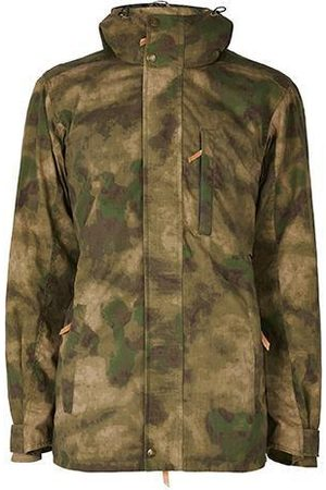 Men Outdoor Jackets - Men's Low-Impact Natural Brass The Wax Jacket XL TROY London