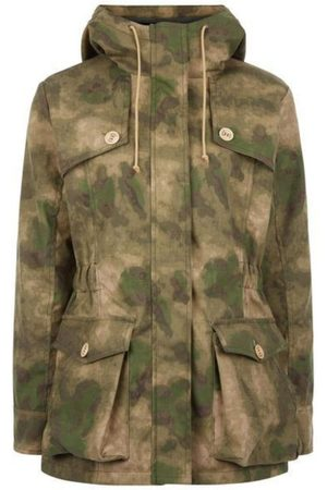 Women's Low-Impact Natural Cotton Wax Parka Small TROY London