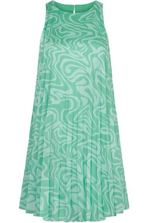 Women Party Dresses - Women's Recycled Green Fabric Ivy Dress Large Hip + Happen