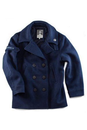 Men's Blue Cotton & sons Boardwalk Peacoat Small & SONS Trading Co