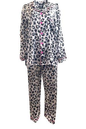 Women's Artisanal Sleeping Rock Star Pajamas Small Any Old Iron