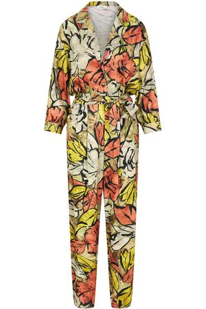 Women's Fabric Adah Desert Floral Jumpsuit Large ANiiC