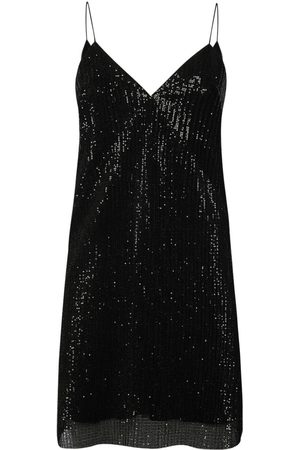 Women Party Dresses - Women's Artisanal Black Matilde Dress Medium Sveta Milano