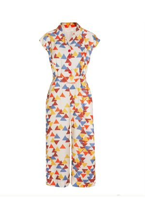 Women's Natural Fibres Tencel Francesca - Kinetic Jumpsuit Medium Palava