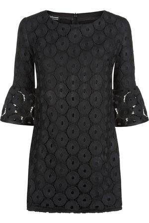 Women Party Dresses - Women's Artisanal Black Ketta Mini Dress 8 Tramp In Disguise