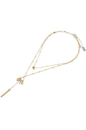 Women Necklaces - Women's Artisanal Gold Set Of Necklaces - Gaby Anne-Marie Chagnon