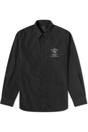 Givenchy Men Shirts - Crest Logo Shirt