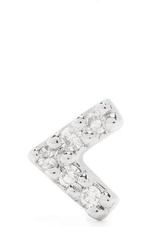 Maria Black 14kt white gold diamond Velvet stud earring