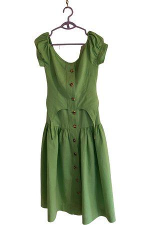 House of sunny Linen mid-length dress