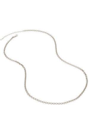 "Monica Vinader Necklaces - Sterling Silver Vintage Chain Necklace 20-22"""