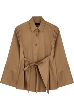 Eudon Choi Leano camel cotton shirt