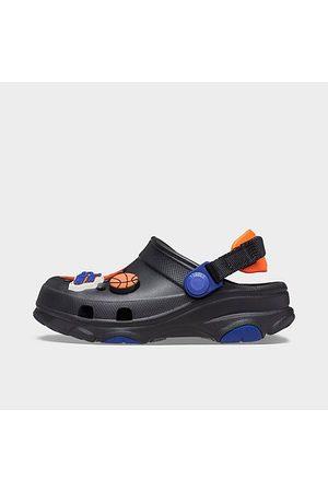 Crocs Big Kids' X Space Jam Classic All-Terrain Clog Shoes in Blue/Purple/Multi Size 4.0