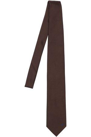 BRIONI 8cm Solid Jacquard Silk Tie