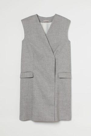 H & M Sleeveless Jacket Dress
