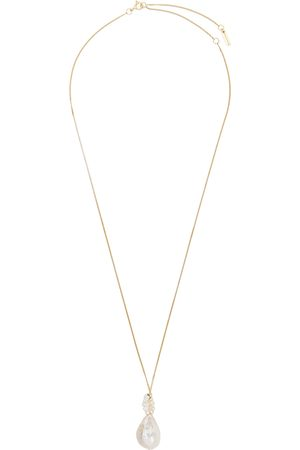 Completedworks No Easy Answers to Existential Questions 14kt gold-plated necklace