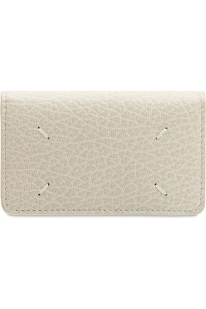 MAISON MARGIELA Embossed Leather Business Card Wallet