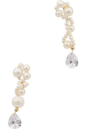 COMPLETEDWORKS Women Earrings - Faux pearl-embellished drop earrings