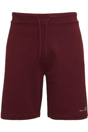 A.P.C. Logo Detail Cotton Shorts