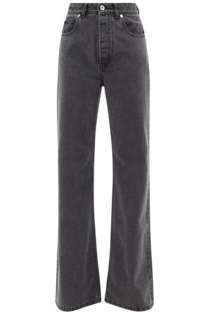 Paco Rabanne High-rise Washed Flared-leg Jeans - Womens