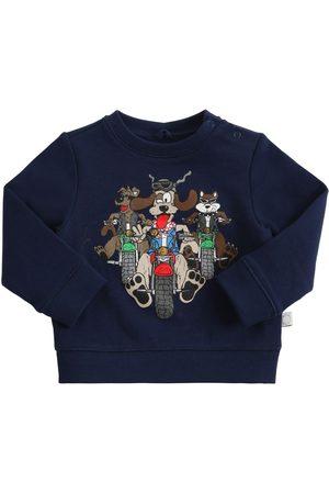 STELLA MCCARTNEY KIDS Boys Sweatshirts - Printed Organic Cotton Sweatshirt