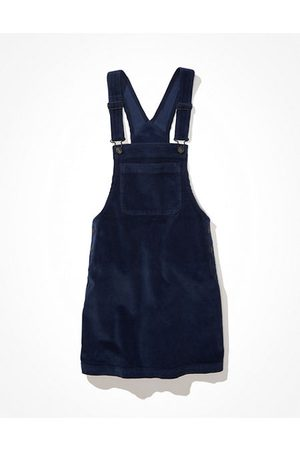 AE Corduroy Overall Mini Dress Women's XXS