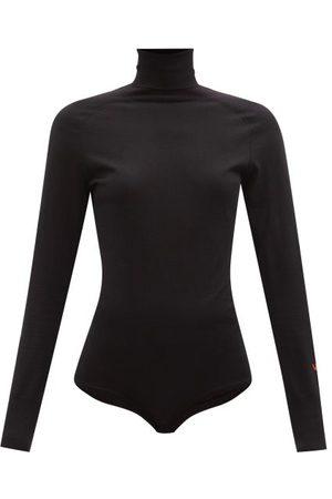 Victoria Beckham Merino Wool Roll-neck Bodysuit - Womens