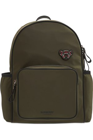 BURBERRY Bear Patch Nylon Backpack