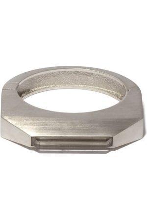 Rick Owens Men Bracelets - Logo-engraved Crystal & Brass Bracelet - Mens