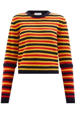 Victoria Beckham Striped Wool Sweater - Womens - Multi