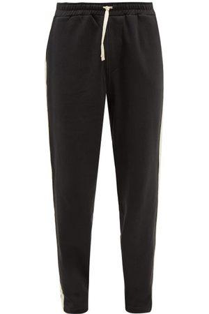 OLIVER SPENCER Men Sweatpants - Morwell Organic-cotton Jersey Track Pants - Mens