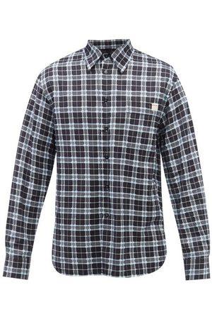 Marni Men Shirts - Checked Fil-coupé Cotton Shirt - Mens
