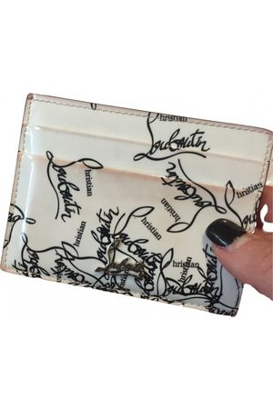 Christian Louboutin Patent leather card wallet
