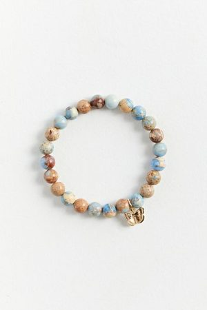 Urban Outfitters Men Bracelets - Genuine Stone Icon Bracelet